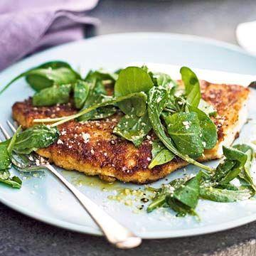 Parmesan Chicken Recipe Ina Garten Fresh Green And