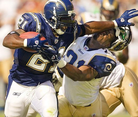 LaDainian Tomlinson mauling over returning to the bolts for 2013...sadly he would be still the best running back in SD!