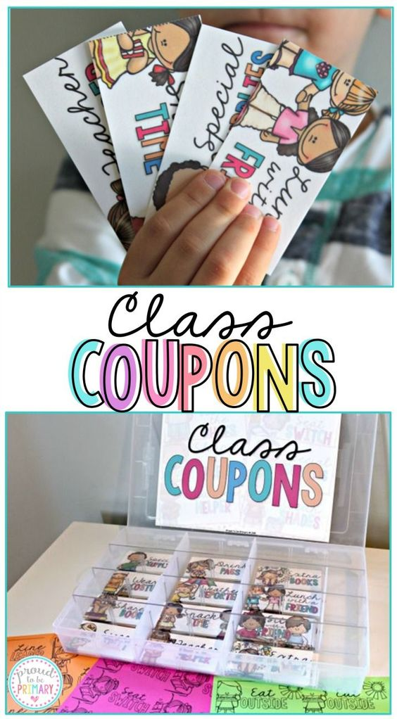 Classroom Reward Ideas For Middle School ~ Classroom reward coupons management strategies