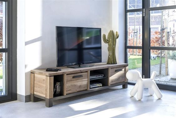 ... woonkamer inspiratie hout modern landelijk  Inspiratie woonkamer