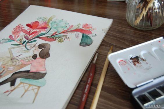 画画-Momolu Studio