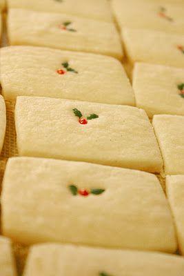 vanilla bean shortbread cookies: Christmas Food, Christmas Shortbread, Christmas Cookie, Holiday Cookie, Shortbread Cookie Recipe