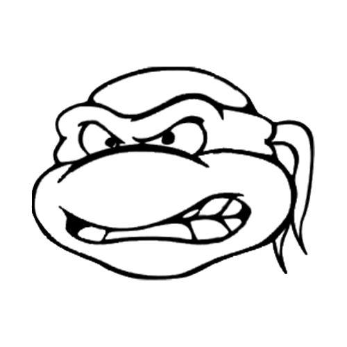 Outline Jr On Pinterest Teenage Mutant Ninja Turtles Coloring