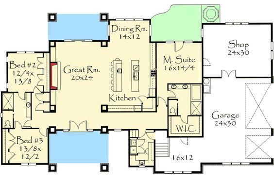 Plan 85039ms Prairie Style Ranch Home Plan Home Ranch