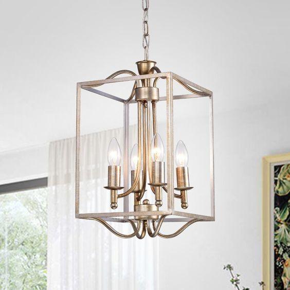Rectangle Lantern Light for dining room