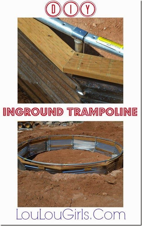 DIY Instructions for 15' Inground Trampoline! #DIY #instructions #15' #inground…