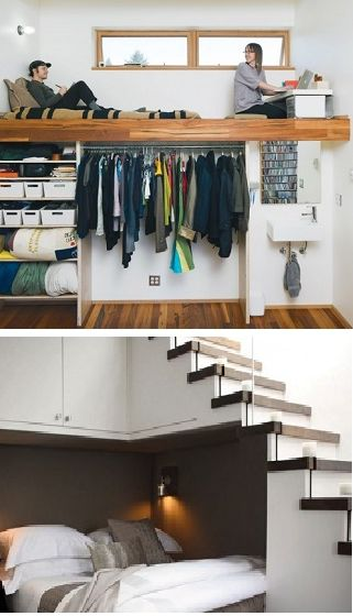 Pinterest the world s catalog of ideas - Save space in small bedroom ...