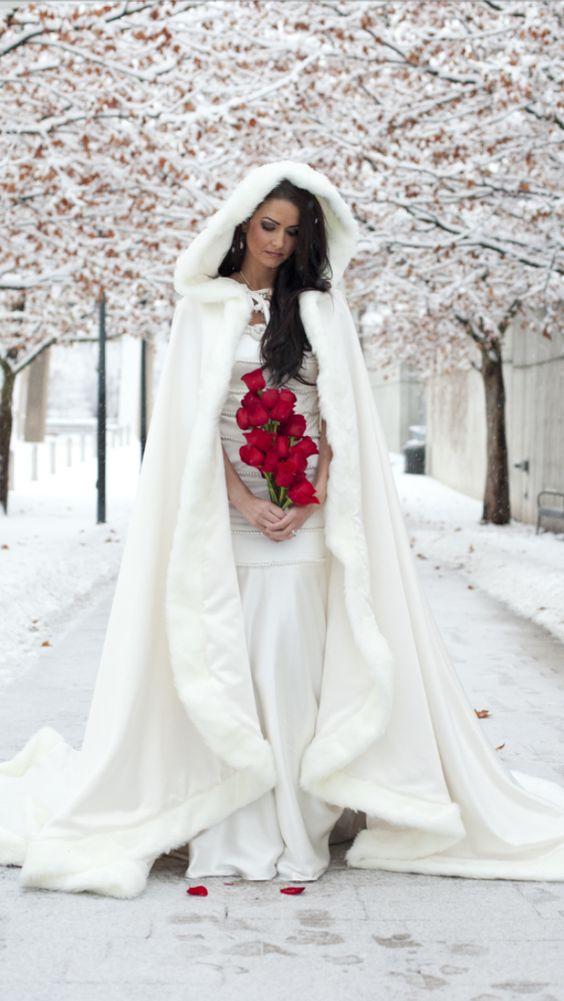 Winter and Snow/karen cox...Winter Bride