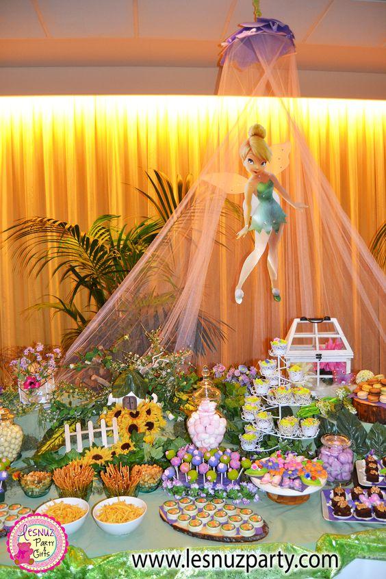 Se nos ha casado un hada, mesa dulce Campanilla - A fairy got married - Wedding Tinkerbell Sweet Table