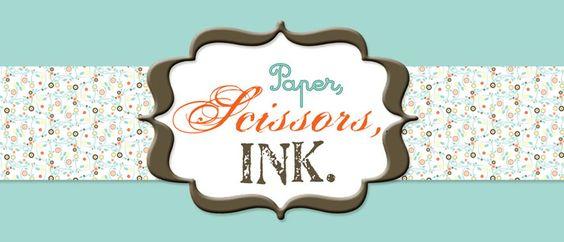 Paper, Scissors, Ink.