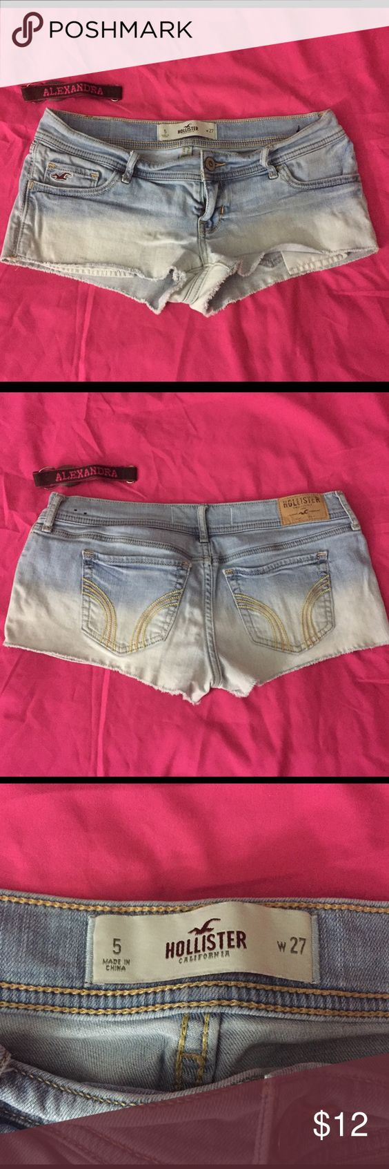 Hollister shorts! Comfy shorts for the beach! Hollister Shorts Jean Shorts