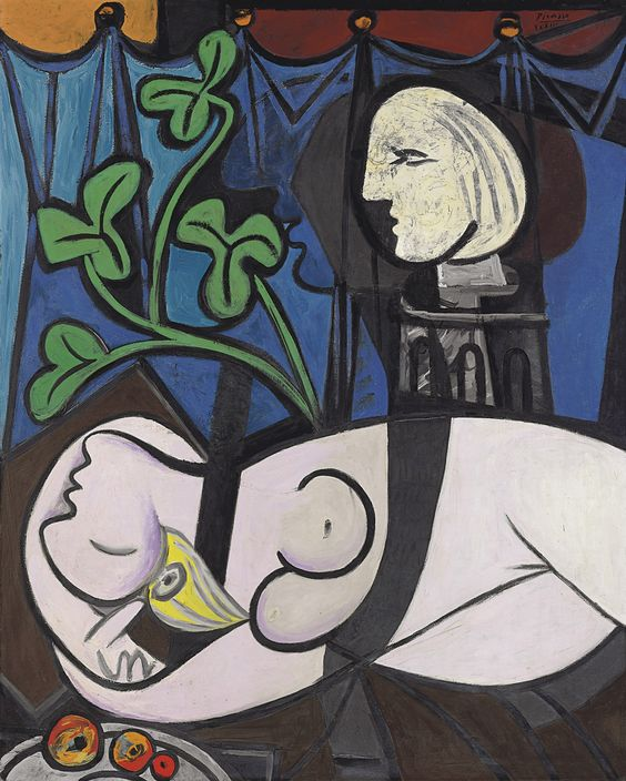 Pablo Picasso, Nude, Green Leaves and Bust, 1932, oil on canvas, 162 x 130 cm (Private Collection)