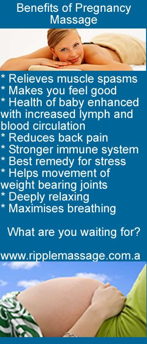 Benefits of pregnancy massage (via ripple) they forgot and ...