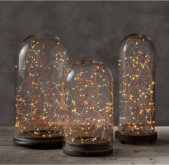 Starry string lights, Copper wire and Starry lights on Pinterest