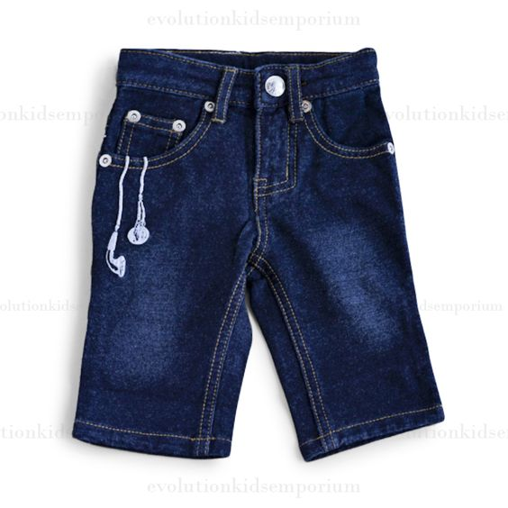 Mini Shatsu Raefer Indigo Blue Denim Jeans