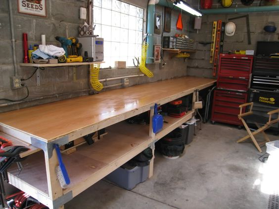 Workbench Idea With Simpson Strong Ties Garage