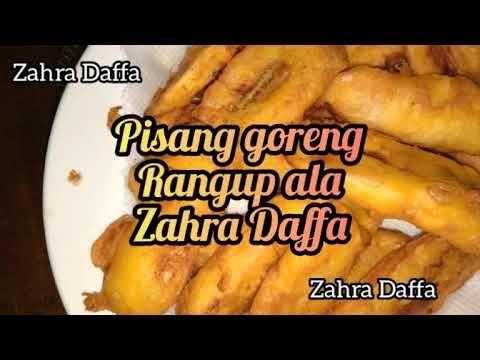 Pisang Goreng Rangup Cara Bancuh Tepung Untuk Pisang Goreng Rangup Youtube Food Fried Food Fries