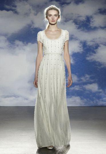 vestido de noiva dina de jenny packham 2015 cintado estilo imperio #casarcomgosto