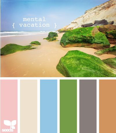 My kind of color combo. I want Everything in my life to be inspired By the beach.