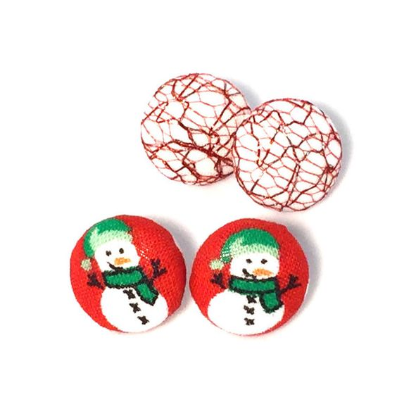 Snowman Earring Set by BeckyABoutique on Etsy