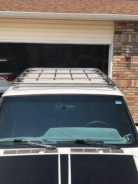 Jeep Cherokee Xj Roofnest Roof Top Tent Platform Roof Rack For Rtt