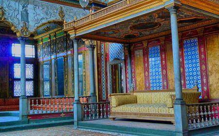 Sultan's Throne Topkapi