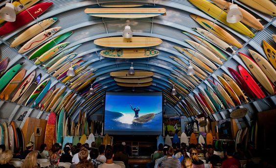 Surfboard heaven