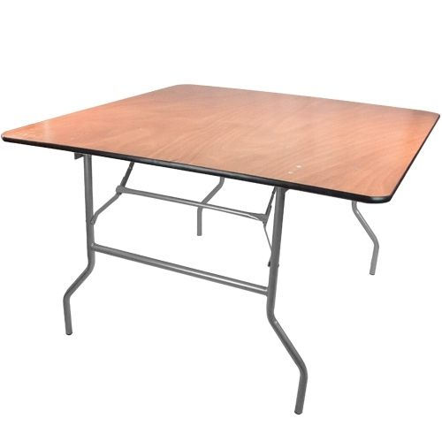 4 X4 Wood Table With Images Wood Folding Table Folding Table Banquet Tables