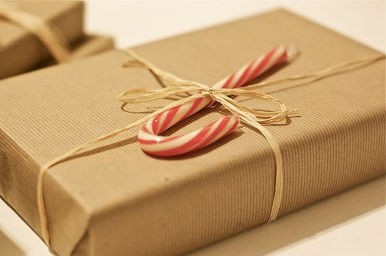 a lovely escape: {12 days of christmas: a brown paper package tied up with string}