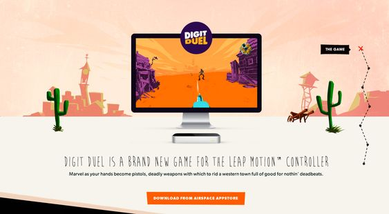 Digit Duel Promo Site - Site of the Day December 28 2013