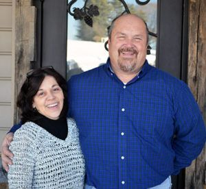 Harford Vineyard & Winery owners - Kevin and Teresa Mooney welcome you!