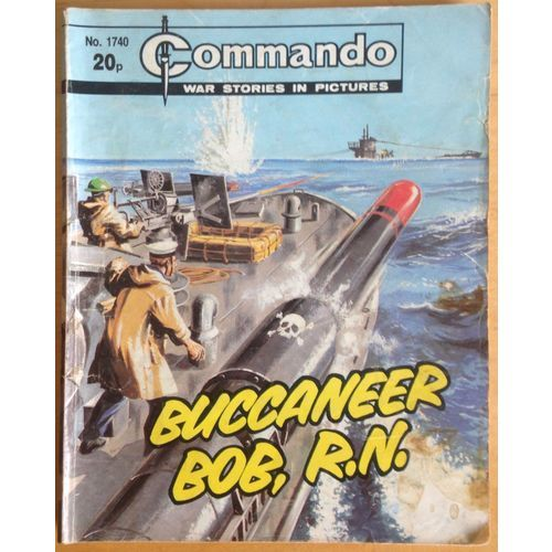 Commando Comic Picture Library #1740 War Action Adventure
