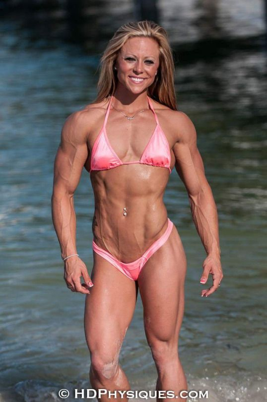 Sexy Muscle Girl #GreatAbs #LookingGood #Diet #Exercise #