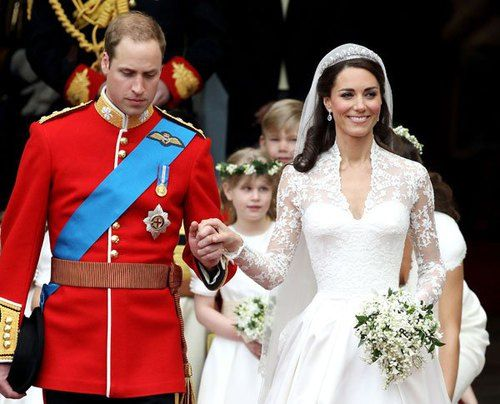 robe mariée de Kate Middleton 2011
