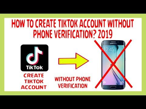 How To Create Tiktok Account Without Phone Number Verification 2019 Youtube Phone Phone Numbers Who Viewed My Facebook