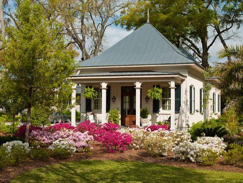 Savannah guest cottage, GA. RHEINZINK.