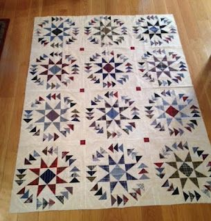 """pattern is """"Dizzy Geese"""" in Quick Quilts from Your Scrap Bag"""