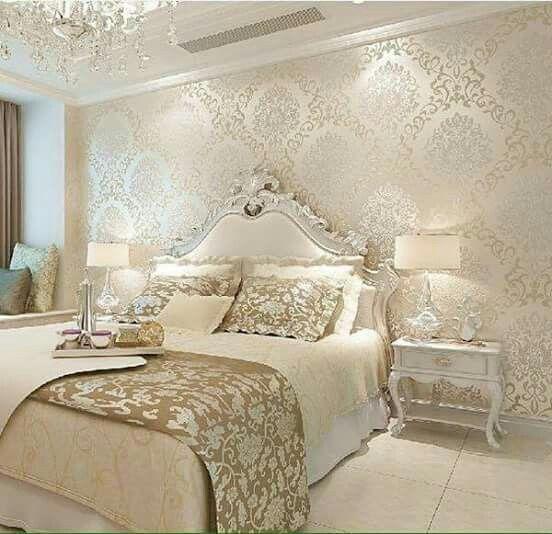 Exquisitely Admirable Modern French Bedroom Ideas To Steal Luxurious Bedrooms Bedroom Interior Bedroom Wallpaper Luxury