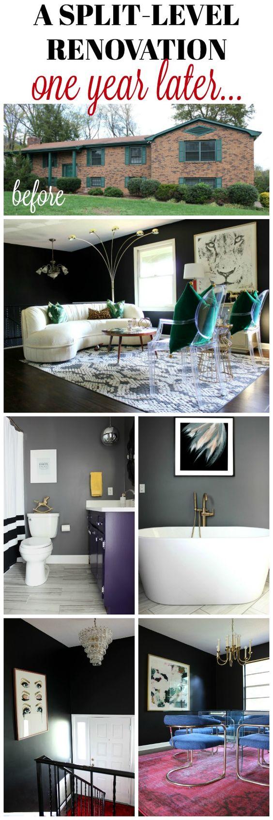 Split Level Remodel | Split Level House | Bi Level Home | Bi Level Remodel | Split Level Entry | Split Level Living Room