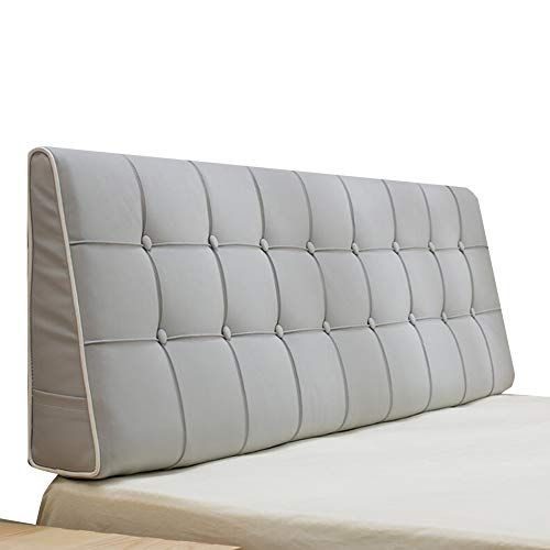 Liangliang Kaodian Headboard Cushion Triangle Bedroom Large Slope Bed Headrest Double Waist Protection Pu Easy To S Cushion Headboard Bed Headrest Bed Backrest