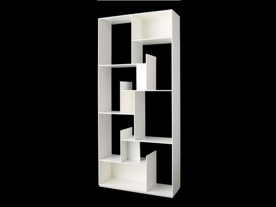 Offenes Raumteiler Bücherregal MODUS by Miniforms | Design Andrea Lucatello