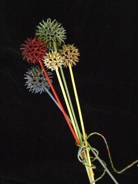 Sweet Gum Flowers Nature S Little Prickly By Idlewildcreations 8 50 Sweet Gum Sweet Gum Tree Crafts Pine Cone Crafts