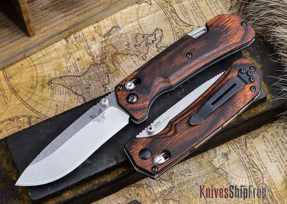 Benchmade Knives: 15060-2 HUNT - Grizzly Creek - Drop Point - Dymondwood