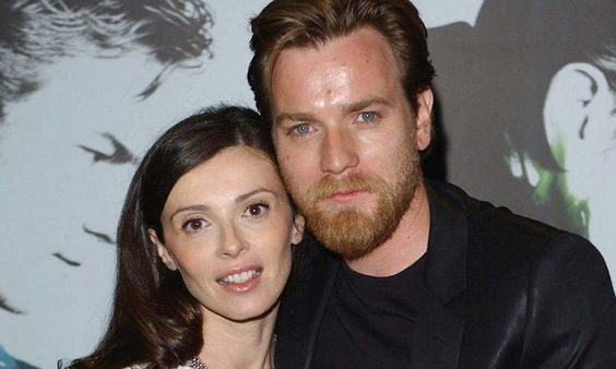 Ewan McGregor has admitted to having been with 'many, many, many women'. But, he insists, they were all before he fell for Eve, his French wife of 17 years. (Both pictured)