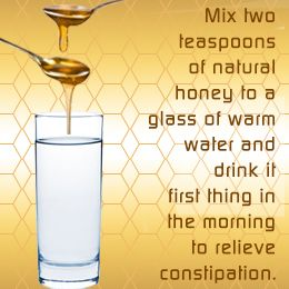 Natural home remedies for constipation!