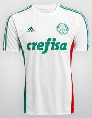 Camisa Adidas Palmeiras II 2015 s/nº
