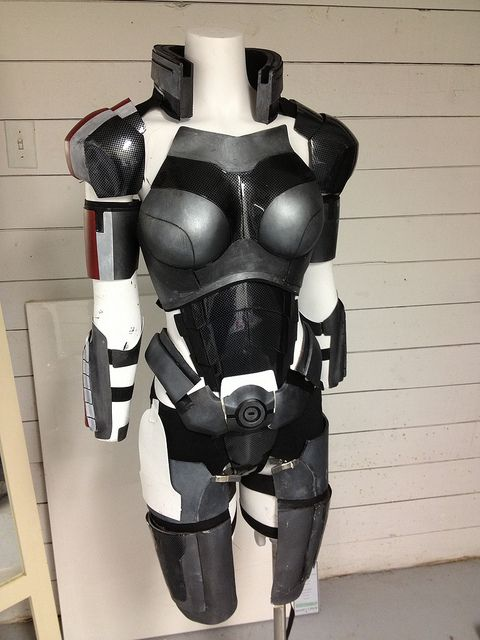 Rifles armors and need to on pinterest for Mass effect 3 n7 armor template