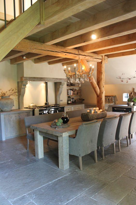 Belgian | Kitchen | De Wilgengaarde: beautiful Belgian timeless kitchen decor home Belgium interior design