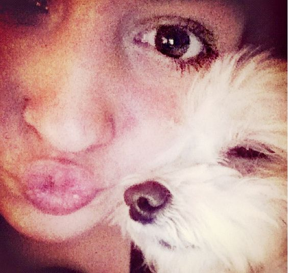 Me and my puppy
