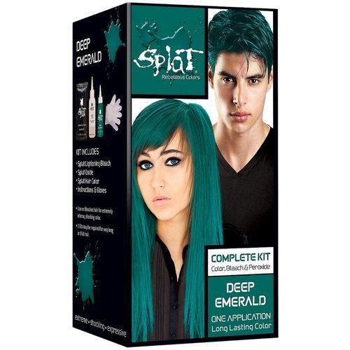 Splat Rebellious Colors Semi Permanent Hair Dye Deep Emerald